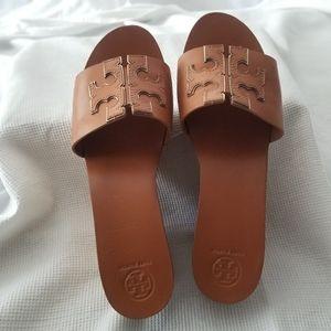 Tory Burch Ines Wedge Platform Slide Sandals